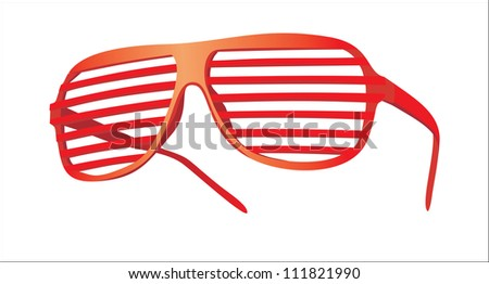 fashion sunglasses - stock photo