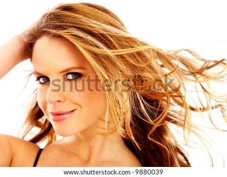 face portrait woman. woman face portrait