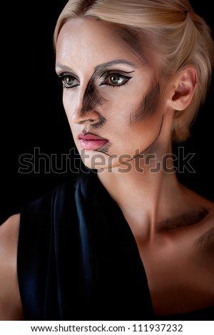 Fashion woman Portrait Fashion woman Portrait