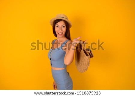 fashion woman with bag stylish stylish