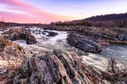Fast and Dangerous. Great Falls Park