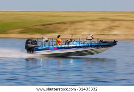 Bass Boat Clip Art http://www.shutterstock.com/pic-31433332/stock-photo-fast-bass-boat-speeding-to-the-fishing-hole.html