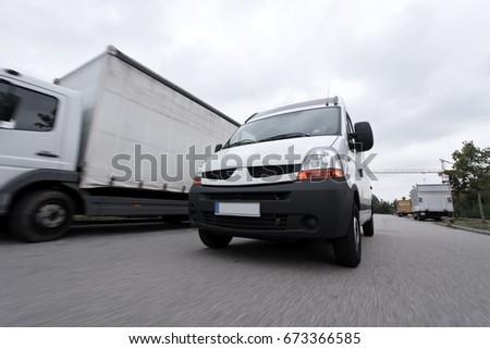 Fast Delivery Van #673366585