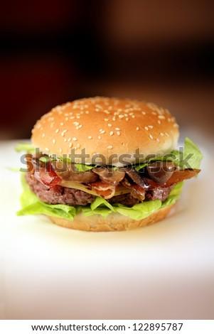 fast food - stock photo