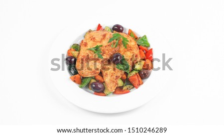 Fast food Arabic dishes daily dishes chicken