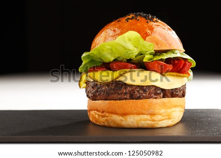 Fast food especially the beef burger is probably the best known fast food of America