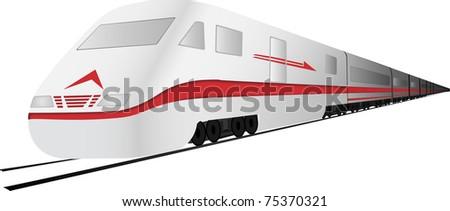 Fast, high speed train