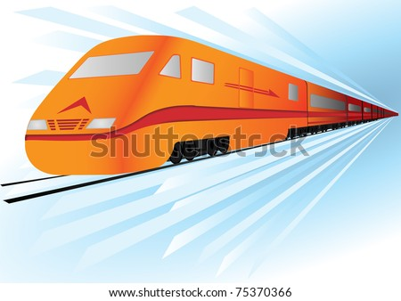 Fast, high speed train