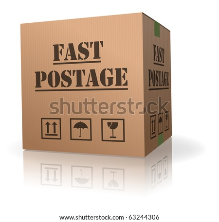 fast post delivery package sending logistics
