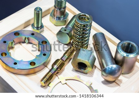 Fasteners products. Bolts, nuts, screws and washers.   #1418106344