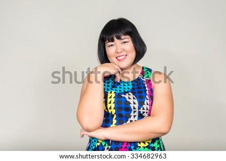Mature chubby asian