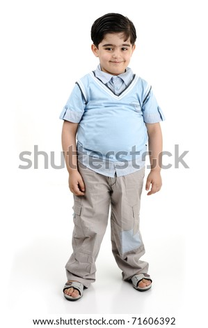 fat boy clipart. stock photo : fat boy