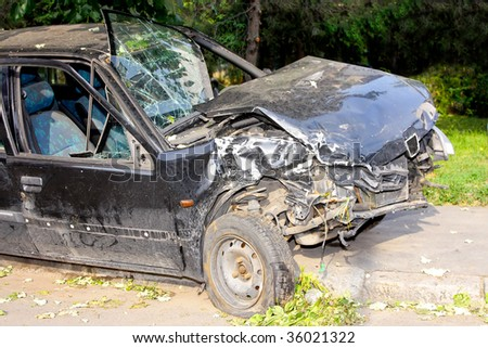 Fatal car accident with head on collision