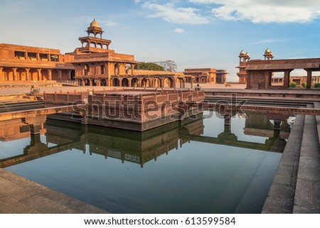 Fatehpur Sikri - A UNESCO World heritage site at Agra, India.