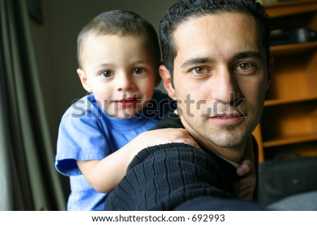 Father and Son Time - Self Portrait