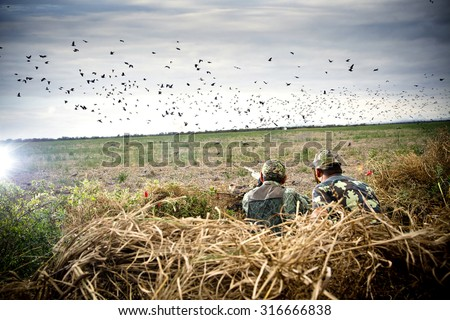 Shutterstock father sun hunting