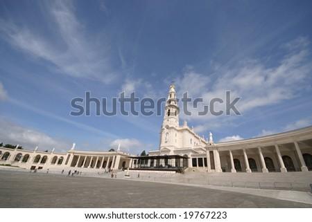 Fatima faith sanctuary in Portugal