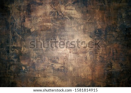 Faux painting or faux finishing that replicate the appearance of materials such as marble, wood or stone Photo stock ©