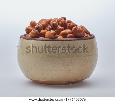 Fava beans (foul) on white background Сток-фото ©