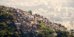 Favelas Of Rio de Janeiro Brazil