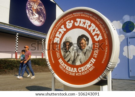 FEBRUARY 2005 - Headquarters of Ben & Jerry's Ice Cream Company in Waterbury, VT