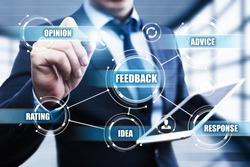Feedback Business Quality Opinion Service Communication concept