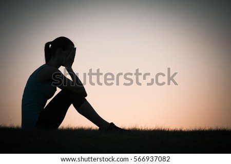 Shutterstock Feeling lonely.