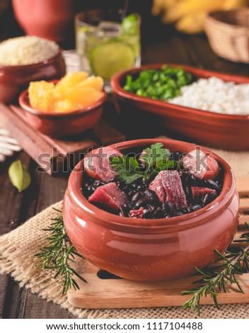 Feijoada (bean stew) - Brazilian Traditional Food
