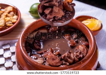 Feijoada, the Brazilian cuisine tradition