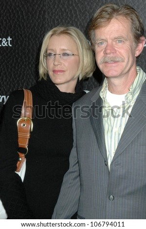 Felicity Huffman and William H. Macy  at the Launch Party for Blackberry Bold. Private Residence, Los Angeles, CA. 10-30-08