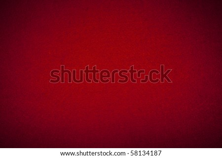 Felt background in red color useful for christmas backgrounds