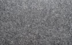 felted fabric dark gray color. Felt texture for text.
