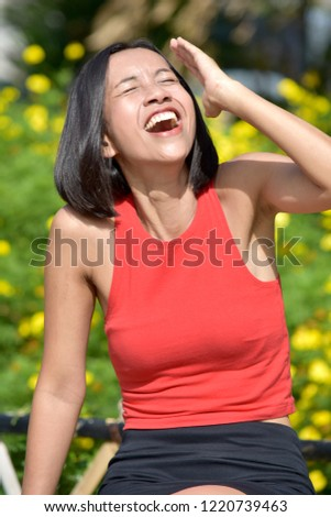 Female And Laughter #1220739463