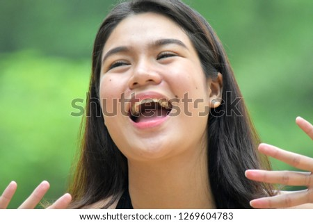 Female And Laughter #1269604783