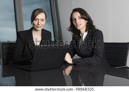 Female Attorneys at Law Firm