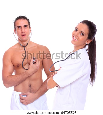Fakehospital sexy british patient swallows doctors advice 5