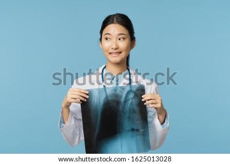 Female doctor medicine hospital treatment diagnosis medication