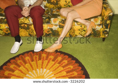 stock photo female legs playing footsie with male legs by colorful retro sofa 3226202 Tentacle Pot Pies. It's not Halloween unless your kids have eaten an octopus ...