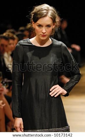 Female model at fashion show #10173142