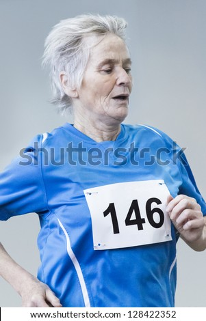 Female Senior race competition