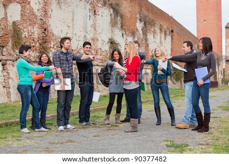 Female Student get Mobbed by the Group