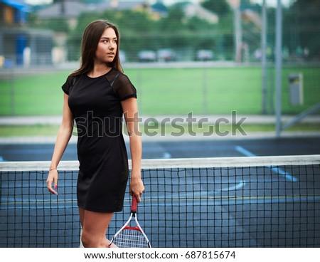 playing tennis girls Sexy
