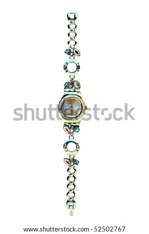 Female Watch Isolated