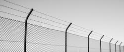 Fence Sky Black'n'White