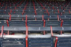 Fenway Old Seats in Color