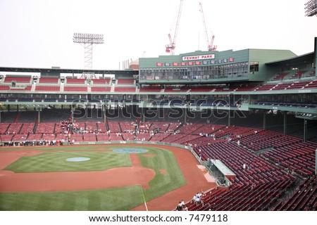 Fenway Park baseball Stadium in Boston Massachusetts, home to the Red Sox