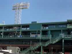 Fenway stadium in Boston, home of the Red Sox baseball team
