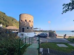 Fermain Battery, Guernsey Channel Islands,