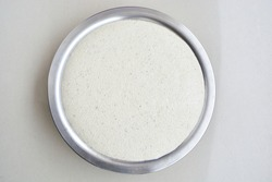 Fermented batter for idli in a pot