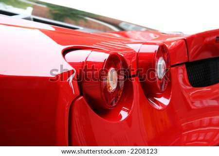 Ferrari F430 Rear lights
